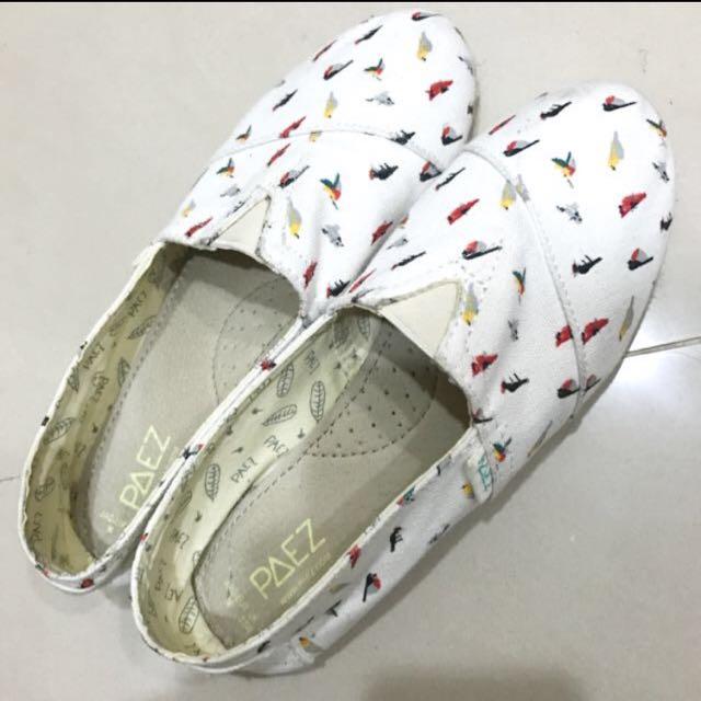 Paez小鸚鵡白鞋