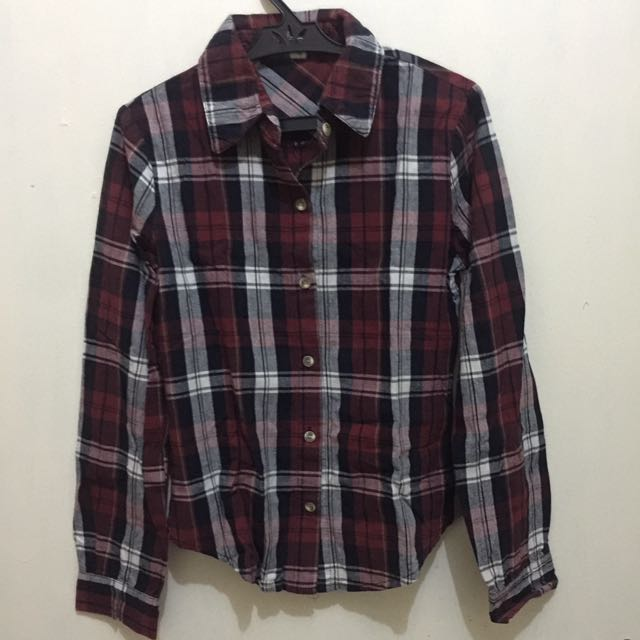 Preloved Flannel Polo