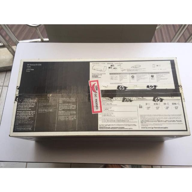 (NEW) Printer HP Deskjet D-1550