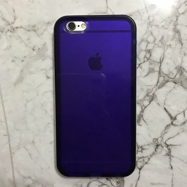 Purple case for iPhone 6/6s