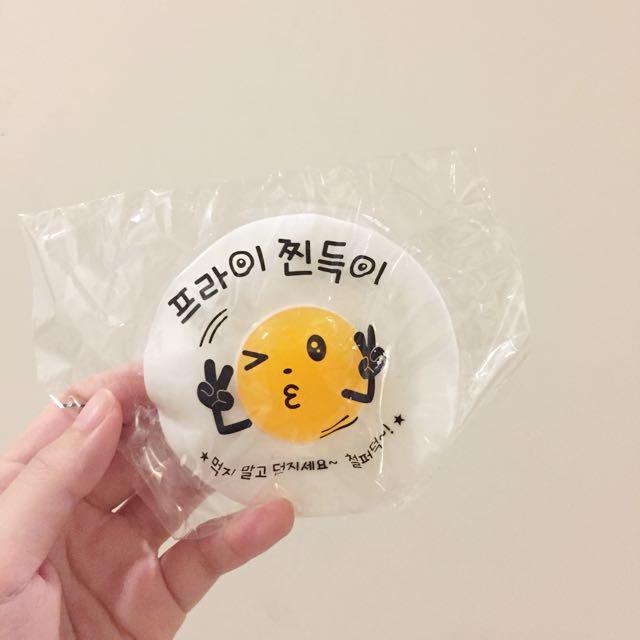 韓國荷包蛋QQ舒壓玩具