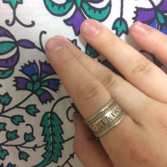 Sanskrit ring