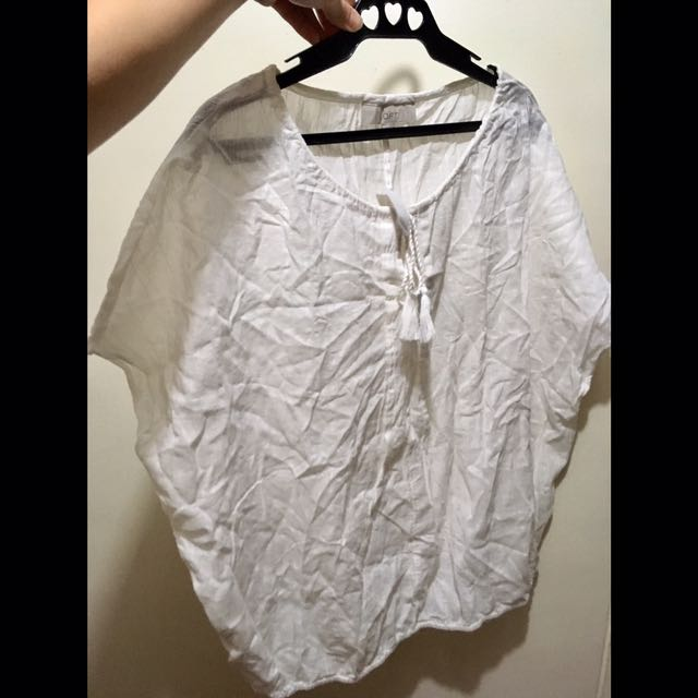 P50 OFF! 😱White Cover Up/Blouse