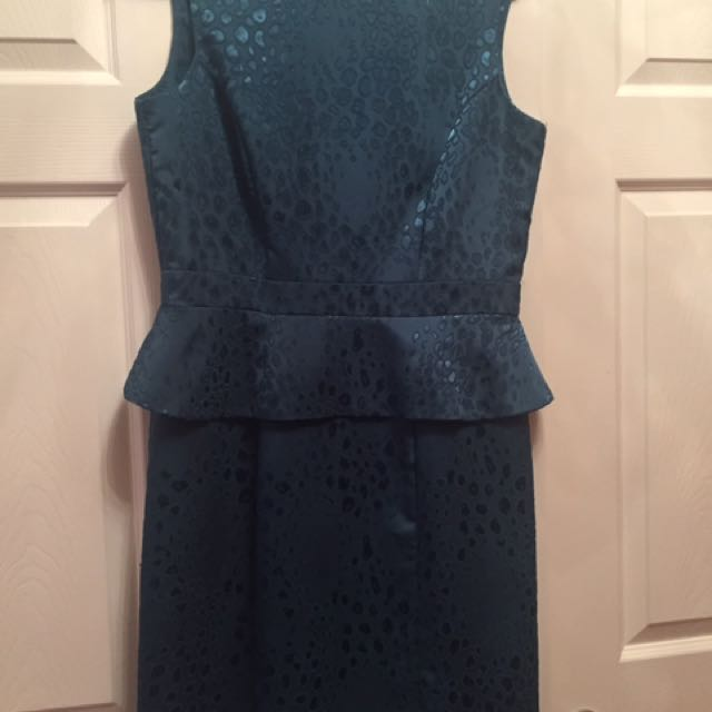 Size 12 Green Dress