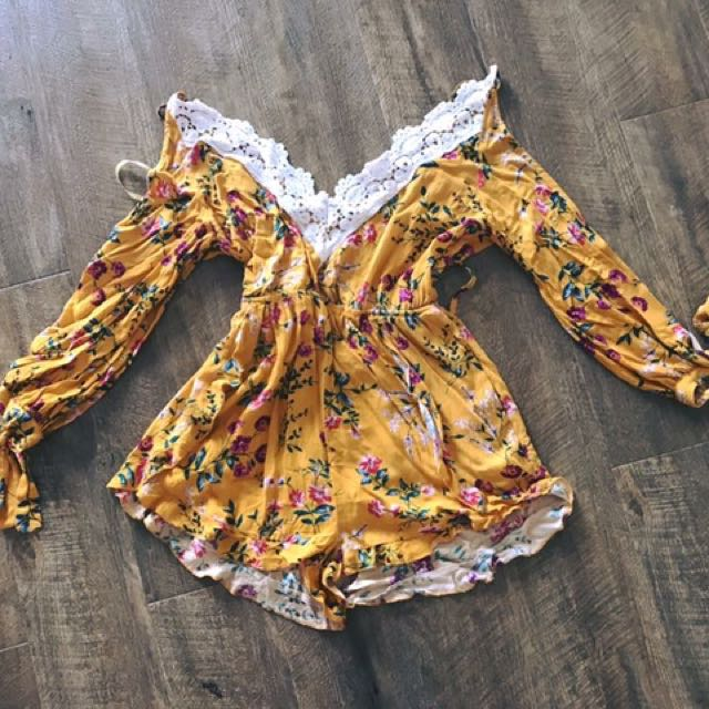 Size 12 Play suit