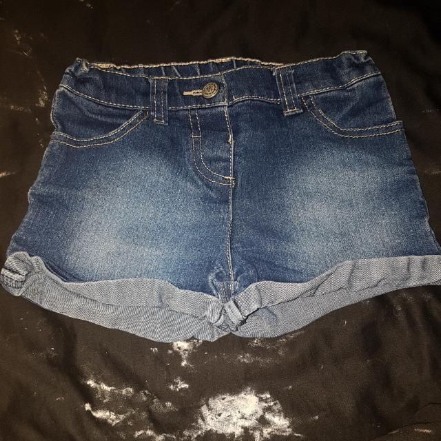 Size 5 Girls Denim Shorts