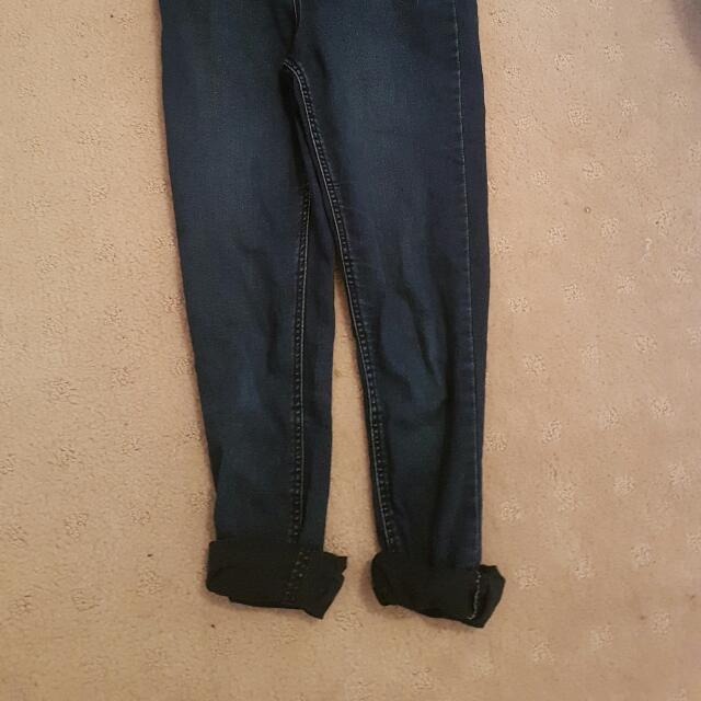 Size 8 High Wasted Jean's