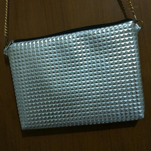 Sling Bag Metalic