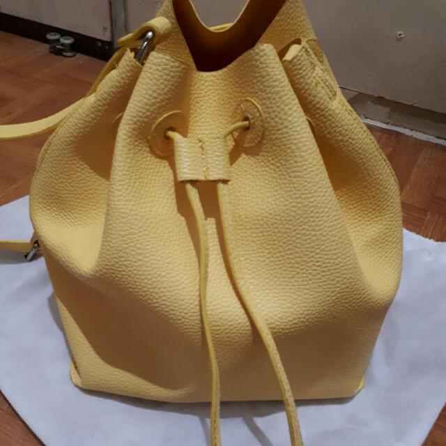 "Sling Bag Zara ""Yellow"""