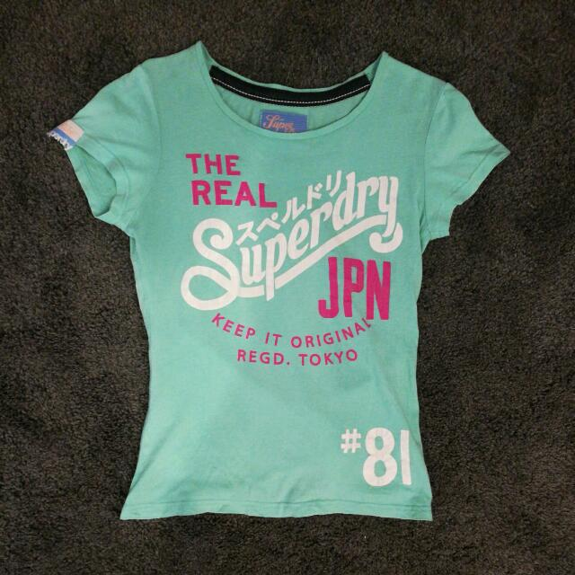 Superdry Tee 100%Authentic