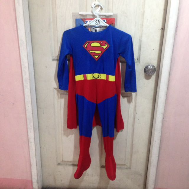 Superman Costume 4-5 Years Old