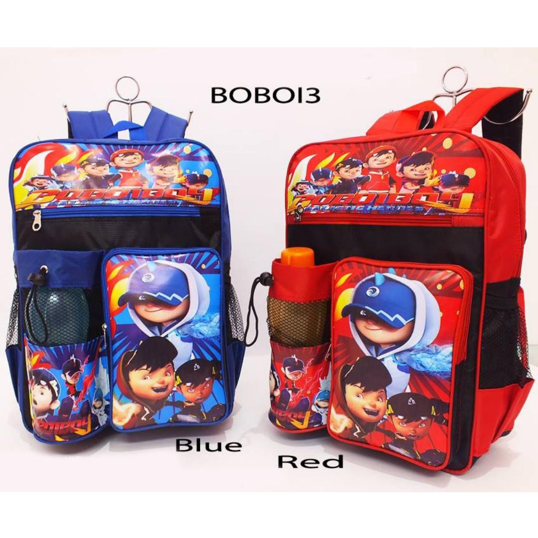 tas sekolah anak laki-laki
