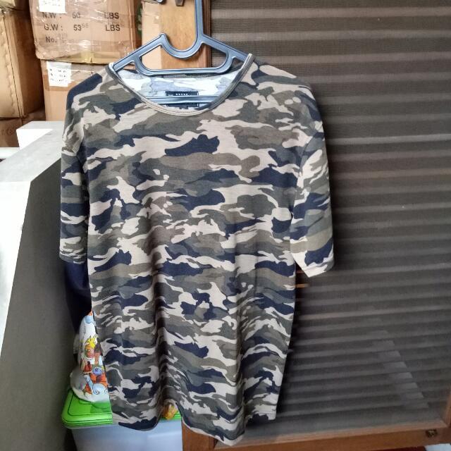 Topman Camo Tshirt