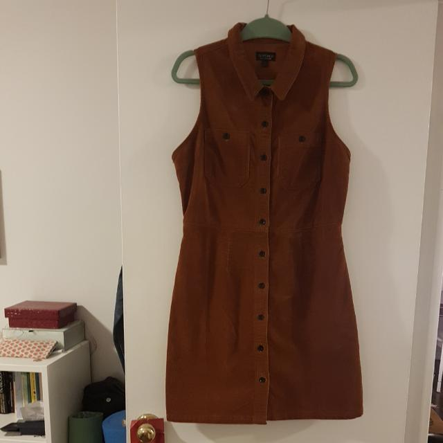 TopShop Corduroy Dress