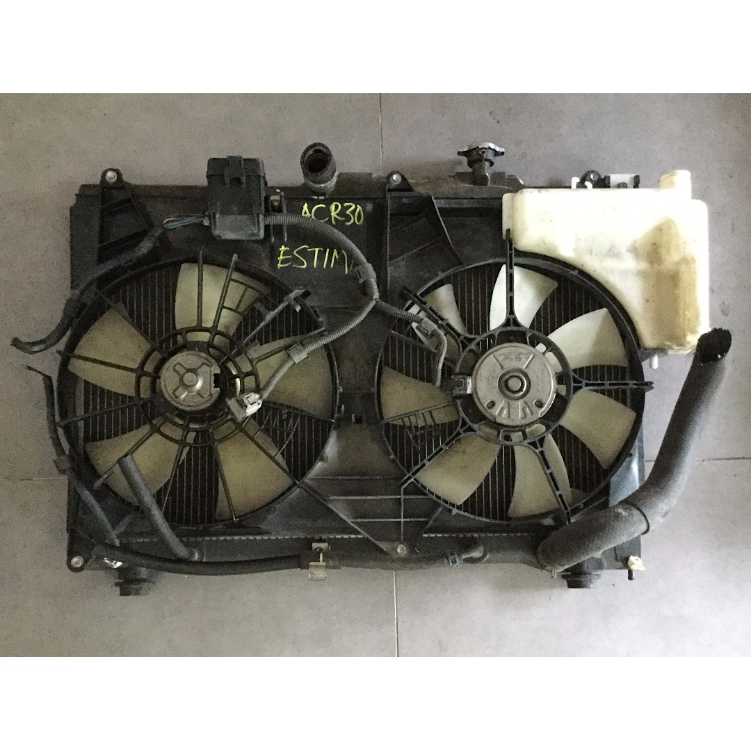 Toyota Estima Acr30 Radiator 24cc Auto Accessories On Carousell Fuse Box