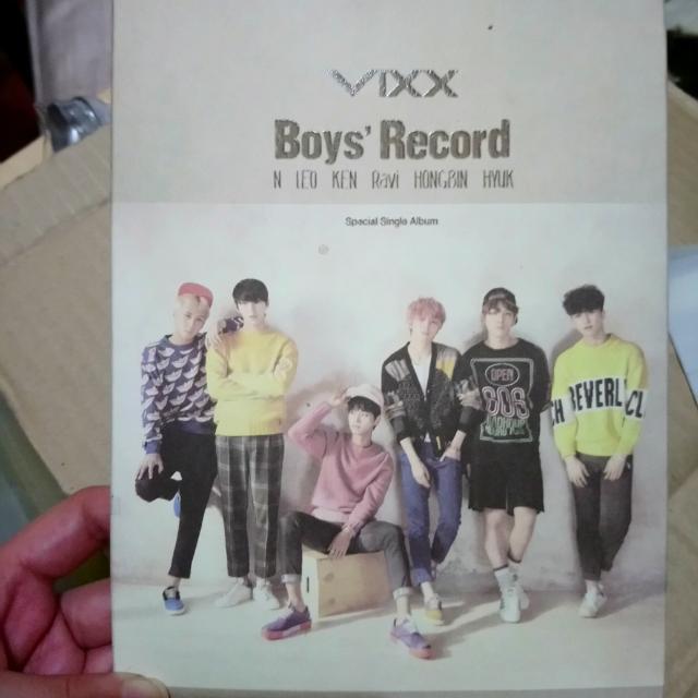 VIXX Boys Record