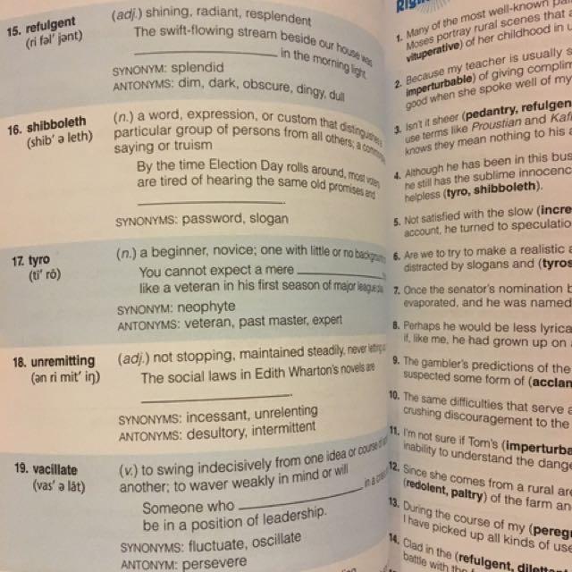Vocabulary Workshop ( Enriched Edition )