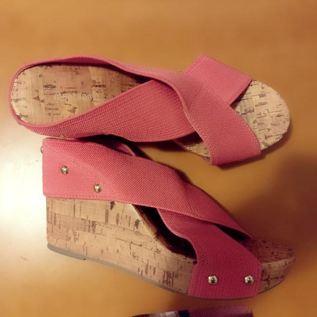 Wedged Sandals Worn Once