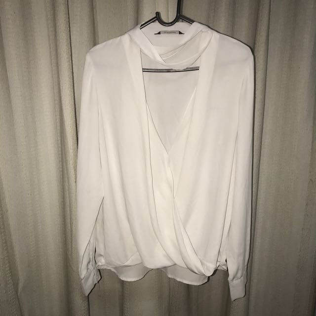 White Glassons Blouse