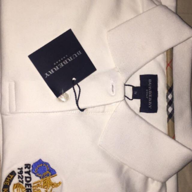 Women Burberry Polo Shirt