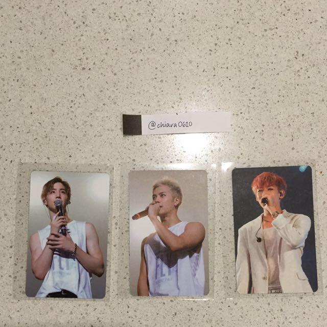 [WTS] GOT7 Fly In Seoul Mark, Jackson & Bambam Photocards