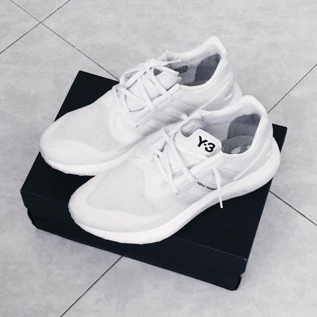 92aead44d Y-3 Pureboost Crystal White