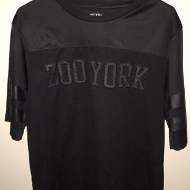 Zoo York Black On Black Baller Shirt