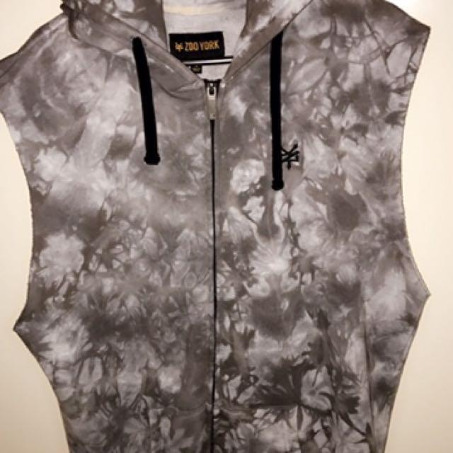 Zoo York Sleeveless Hooded Sweat Shirt