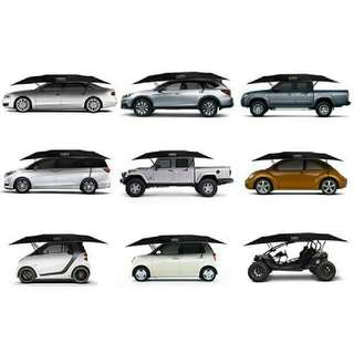 Free Delivery Remote Controlled Portable Automotive Outdoor Car Tent Sunshade Umbrella