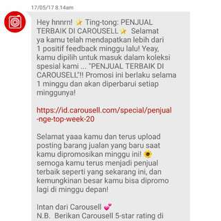 III - Recommended Seller by Carousell