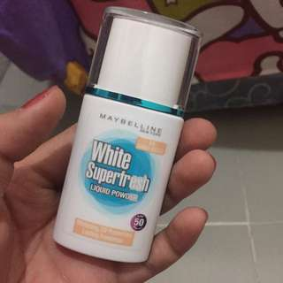 Maybelline White Super Fresh Liquid Powder