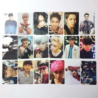 SUPER JUNIOR PHOTOCARDS