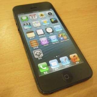 Iphone5 16GB 黑色