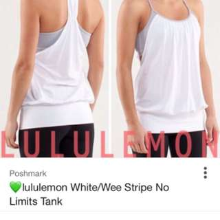 Lululemon Tank Size 4