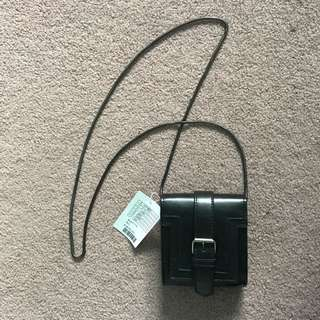 Urban Outfitters Black Bag W/ Buckle