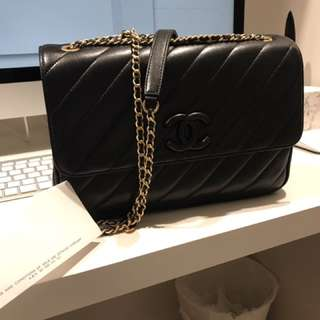 Chanel Chevron Flap - New Medium Size
