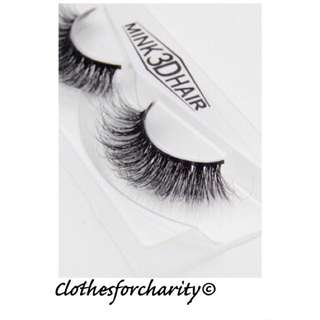 FREE POSTAGE long And Curly Reusable Eyelashes