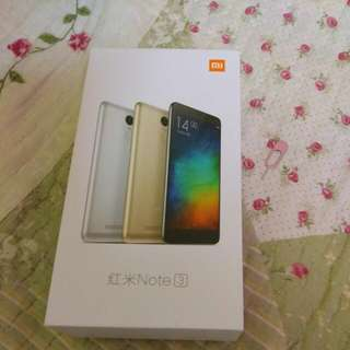 Handphone Xioami Note 3pro,snapdragon 650..2 Ram 16gb External