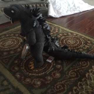 Godzilla Beanie Baby Large Size