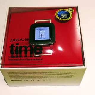 Pebble Time Watch Red