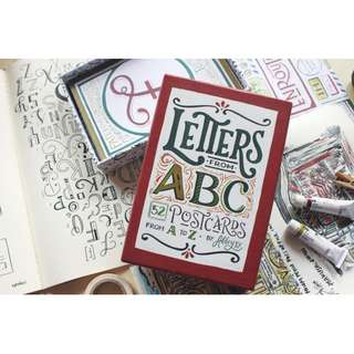PostCards Letters From ABC
