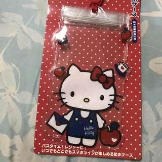 Hello kitty 防水手機袋