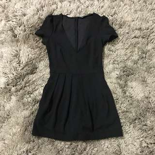 ( New) Zara Playsuit Skort