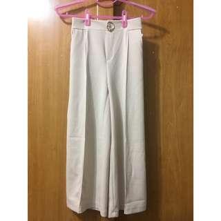 全新韓版修身立挺寬褲#我的旋轉衣櫃