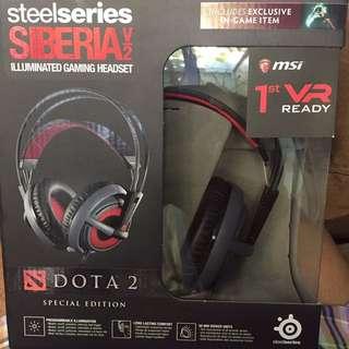 Steelseries SIBERIA V2 Illuminated Gaming Headset
