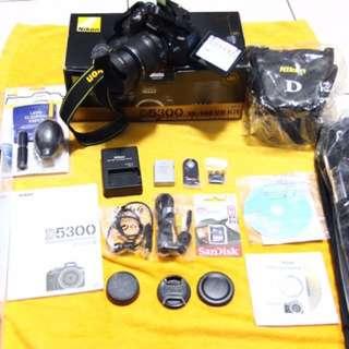 Nikon D5300 Wifi Camera