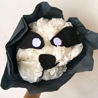 Panda Paper Flower