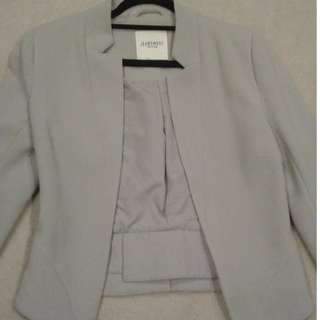Jeans West XS grey jacket