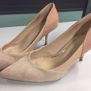 Zara Thtee-Toned Heels - 40