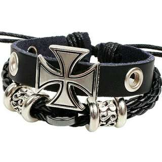 Men's Leather Rope Bracelets